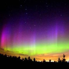northern lights....would love to see it in person