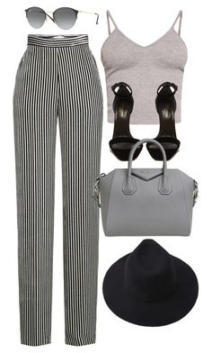 """31."" by kassigailjones on Polyvore featuring Etro, BasicGrey, Ray-Ban, Yves Saint Laurent and Givenchy"