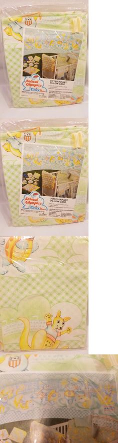Pillowcases and Shams 124327: Vintage Baby Pillow Case Circus Olympics Dundee Mills Made In Usa -> BUY IT NOW ONLY: $34.95 on eBay!