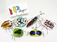 Learn how to make Fused Glass Bugs.