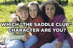 """Which """"The Saddle Club"""" Character Are You"""