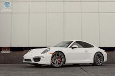 2012 Porsche 911 Carrera S (991) on Modulare B18 wheels