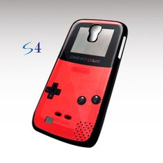 GameB Boy color Red Samsung Galaxy S4 case | TheYudiCase - Accessories on ArtFire
