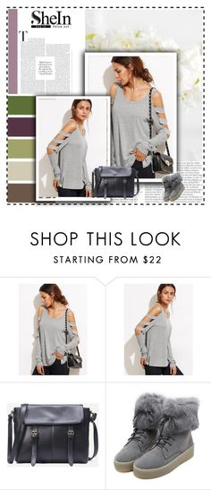 """""""New SHEIN contest please join"""" by zehrica-kukic ❤ liked on Polyvore featuring WithChic and Mixit"""