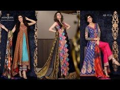 Latest summer colorful lawn collection 2017  by asim jofa