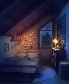 anime backgrounds episode interactive bedroom night scenery places choose space story