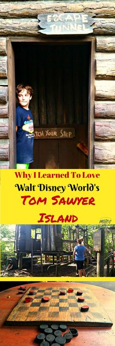 Lose time at Walt Disney World's Tom Sawyer Island? No way. That used to be me. Until my kids made me slow down, look around and appreciate this haven in the middle of the Magic Kingdom! #WaltDisneyWorld #Disney #MagicKingdom