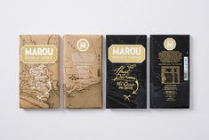 Marou Chocolate - Heart of Darkness on Packaging of the World - Creative Package Design Gallery