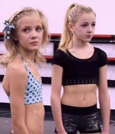 Paige and Chloe.... Two of the best dancers on dance moms!!!