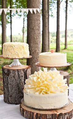 Real Weddings - Stace & Dale's Woodland Wedding | LookLoveWed.co.nz #rustic #woodland #wedding