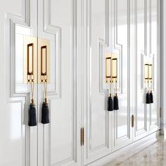 Wardrobe Door Designs, Wardrobe Doors, Closet Designs, Bedroom Setup, Home Decor Bedroom, Room Decor, Design Your Bedroom, Wardrobe Design Bedroom, Kitchen Cabinet Door Styles
