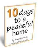 Bringing the Day to a Close: 10 Days to a Peaceful Home
