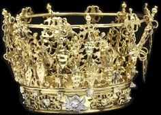 Bridal Crown or Brudkrona, Sweden (ca. 1750-1970; silver, partly gilded). © Victoria and Albert Museum, London.
