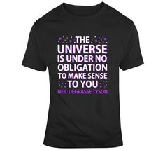 Science Universe T Shirt
