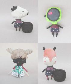 dolls by Kukloferma -
