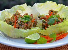 Thai Chicken Lettuce Cups http://www.huffingtonpost.com/jennifer-segal/8-easy-thai-style-dishes_b_5624418.html?ncid=txtlnkusaolp00000592