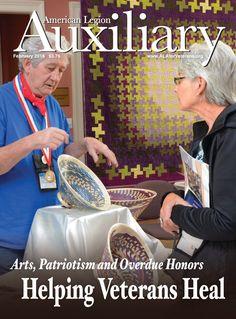 Auxiliary magazine, Vol. I, February 2016 American Legion Auxiliary, American Legions, February 2016, Magazine Covers, The Unit