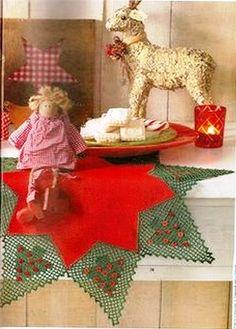 forrinhos de croche de natal