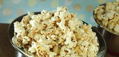 Kettle Corn is easy to make with the help of Pappy's Kettle Corn Mix! Kettle Corn, Snack Recipes, Snacks, Cauliflower, The Help, Vegetables, Sweet, Easy, Gold