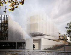 Poterne des peupliers by AAVP Architecture Vincent Parreira & Antonio Virga architecte