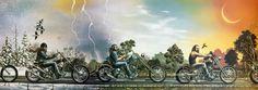 David Mann Original Art | ... Editions - All Artwork - David Mann - Motorcycle…