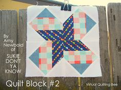 block 2..Diary of a Quilter - a quilt blog: The Virtual Quilting Bee
