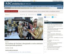 La web ABC Sevilla recomienda Vin Doré 24K