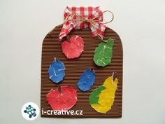 podzimní tvoření s nejmenšími dětmi Vegetable Crafts, Fruit, Preschool Activities, Kids Crafts, Art For Kids, Kindergarten, Christmas Ornaments, Holiday Decor, Fall