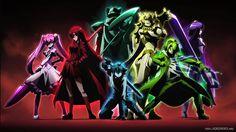Night Raid Anime Akame Ga Kill Group High Resolution