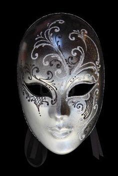 Beautiful carnival mask from venice Italy Stock Photo