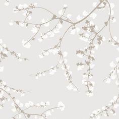 nordic blossom - wallpaper by Fiona Wall Design Wallpaper Sydney, Power Wallpaper, Fabric Wallpaper, Wall Wallpaper, Wallpaper Backgrounds, Phone Wallpapers, Spring Branch, Tech Background, Wallpaper Online