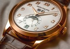 Patek Philippe 5396 Annual Calendar Moonphase Watch Hands-On Hands-On Patek Philippe, Moonphase Watch, Wear Watch, Watches For Men, Men's Watches, Luxury Watches, Omega Watch, Calendar, Mens Fashion