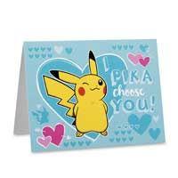 Pokémon Hearts note card set | envelopes | Valentine's | cards