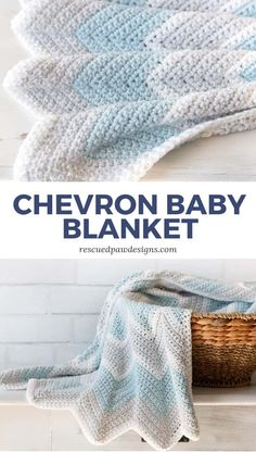 Crochet Chevron Baby Blanket Pattern - Free Crochet Blanket Pattern from Rescued . Crochet Chevron Baby Blanket Pattern - Free Crochet Blanket Pattern from Rescued . Chevron Crochet Blanket Pattern Baby, Chevron Baby Blankets, Free Baby Blanket Patterns, Baby Boy Crochet Blanket, Easy Crochet Baby Blankets, Knitting Baby Blankets, Crocheted Baby Blankets, Crochet For Beginners Blanket, Knitting Projects