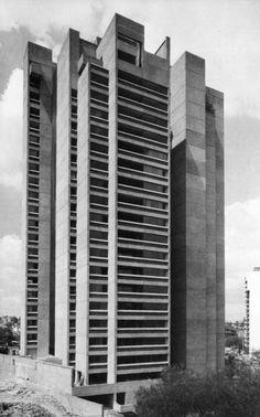 Apartments, Avenida de las Fuentes, Mexico City, Mexico, 1974  (Abraham Zabludovsky and Teodoro González de León)