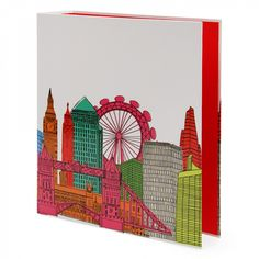 Love From London lever arch file - £4