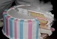 baby reveal cake ideas - Google Search
