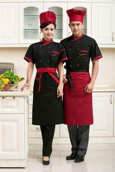 TB2HNxAcpXXXXblXpXXXXXXXXXX_!!1891252867 Chef Dress, Chef Costume, Hotel Uniform, Restaurant Uniforms, Work Aprons, Angel Outfit, Work Uniforms, Uniform Design, Apron Designs