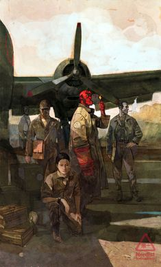 Hellboy and The B.P.R.D. #11 by Alex Maleev *