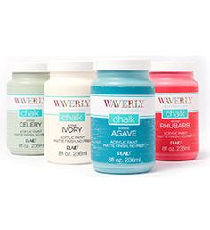COLOR CHART  Waverly ® Inspirations Chalk and Waxes Enterprises