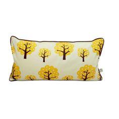 Dotty cushion yellow
