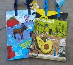 Trader Joes TRADER JOEs tote bag insulated bag cooler bag LARGE