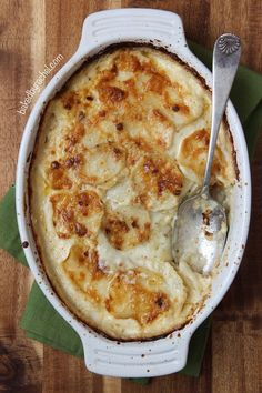 Four Cheese Garlic Scalloped Potatoes  - Delish.com