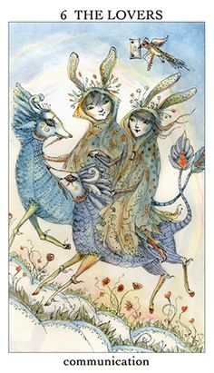Free Daily Tarotscope — Jan 14, 2015 — The Lovers -- Mercury comes close to conjuncting Venus today, bringing positive messages your way. This is going to be about as close as it gets for awhile as Mercury starts to slow down now in anticipation of the upcoming retrograde. (more)...