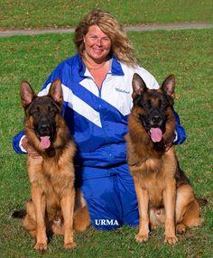 Julie Martinez is the owner of Mittelwest German Shepherds breeder.