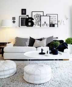1000 ideas about white home decor on pinterest white homes dining rooms and home decor Pinterest home decor black and white