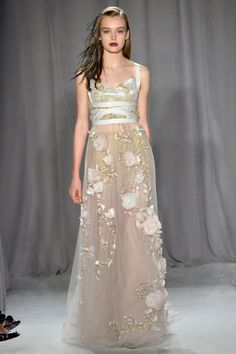 Marchesa spring 2014 RTW - more → http://fashiononlinepictures.blogspot.com/2013/09/marchesa-spring-2014-rtw.html