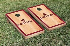 Santa Clara Broncos Cornhole Game Set Hardcourt Version >>> Want to know more, click on the image.