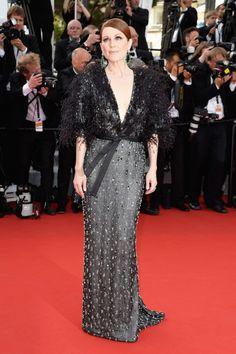 Julianne Moore in Armani Prive #cannes2015