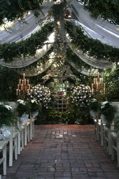 the conservatory... garden wedding any time of the year